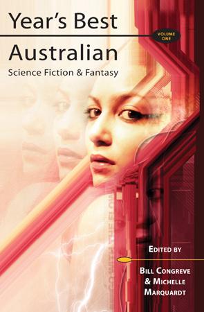 year's best Australian sf cover
